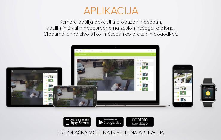 Netatmo Presence | Aplikacija