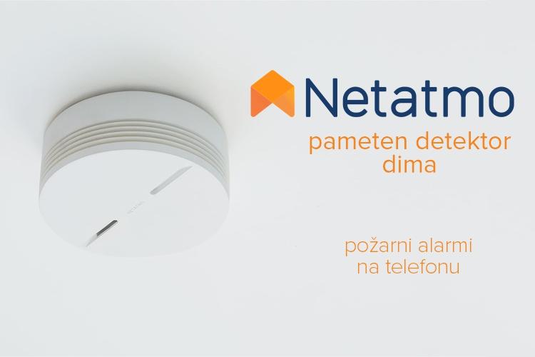 Netatmo detektor dima | Požarni alarmi na telefonu