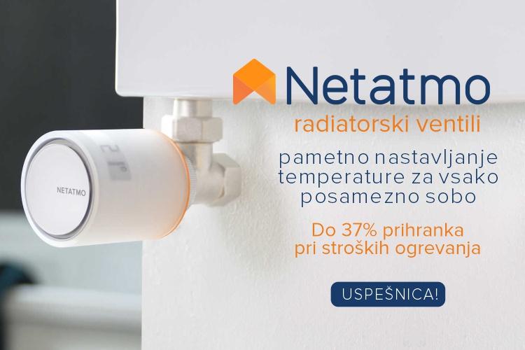 Netatmo by Starck | Pametni radiatorski ventili za 37% nižje stroške ogrevanja