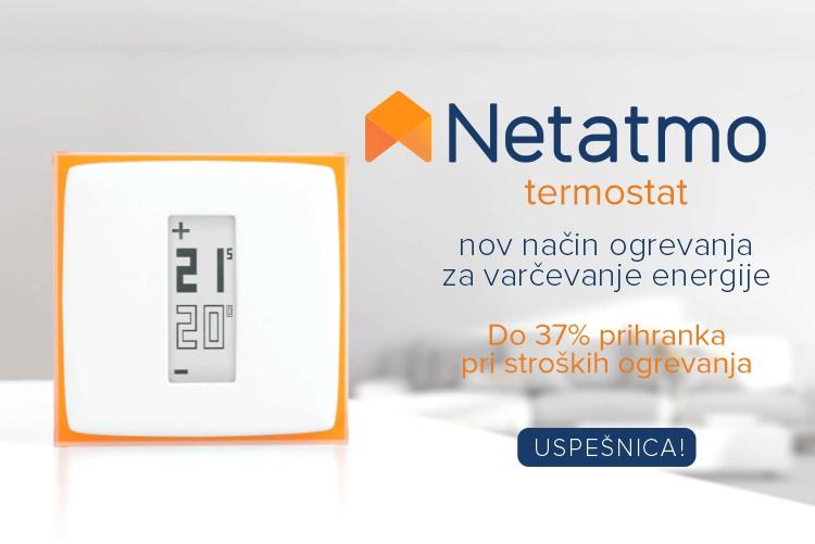 Netatmo by Starck | Pametni termostat -  nov koncept ogrevanja za varčevanje energije