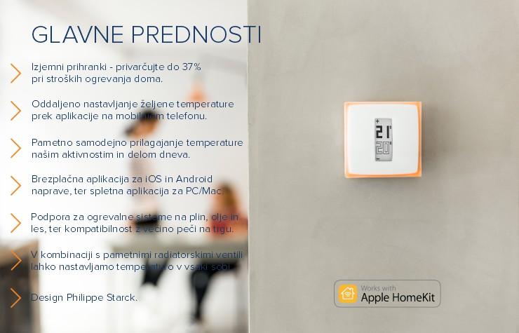 Netatmo by Starck | Termostat za pametne telefone | Nov koncept ogrevanja za varčevanje energije