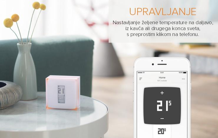 Netatmo by Starck | Termostat za pametne telefone | Upravljanje