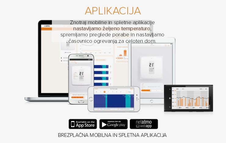 Netatmo by Starck | Termostat za pametne telefone | Aplikacija