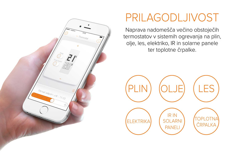 Netatmo by Starck | Termostat za pametne telefone | Prilagodljivost