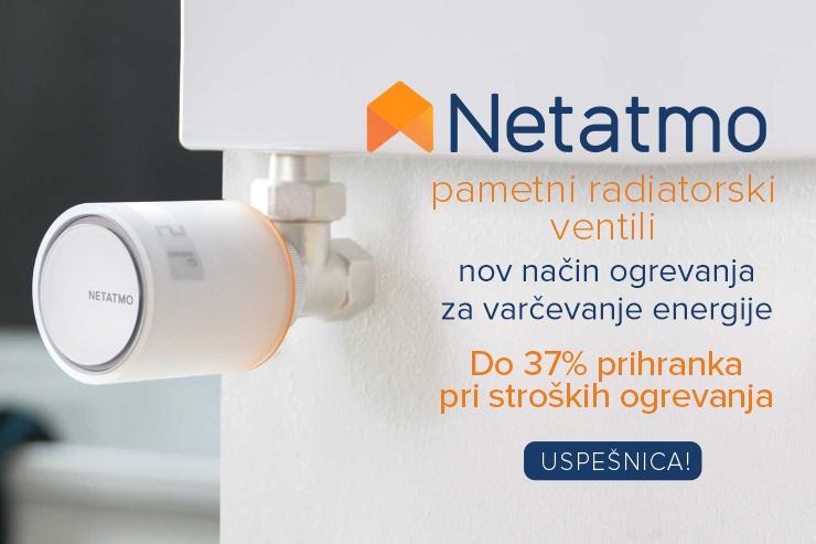 Netatmo by Starck | Termostat za pametne telefone | Paket
