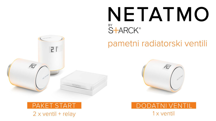 Netatmo by Starck | Termostat za pametne telefone | Pametno ogrevanje