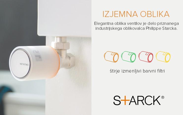 Pametni radiatorski ventili - Design by Starck