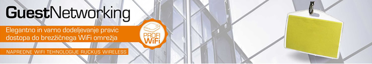 Ruckus Wireless | Guest Networking - mrežni WiFi dostop za goste